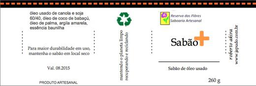 etiquetas sabao usado 520
